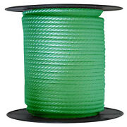 Anchor Rope Dock Line 1/2 X 50and039 Braided 100 Nylon Green Made In Usa