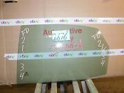 02 03 04 05 06 07 08 Audi A4 Rear Driver Side Door Glass Used 2676-v