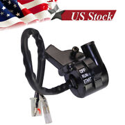 Motorcycle Throttle Housing Start Kill Switch Lever Assembly Fit For Yamaha Pw50