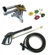 2800 Psi Upgraded Ar Pressure Washer Water Pump And Spray Kit - Troy-bilt 020337