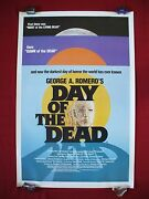 Day Of The Dead 1985 Original Movie Poster 1sh Rolled George Romero Halloween