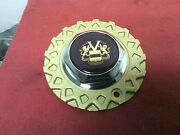 Vogue Tyres Wheel Center Cap 6 Gold Mesh Flange Red Logo 93 New Old Stock
