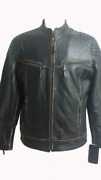 Real Biker Style Leather Jacket