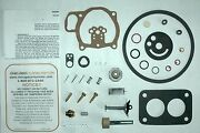 1952 53 Carb Kit Ford Mercury And Lincoln 8 Cyl Holley Model 1901ff 2 Barrel Ethan