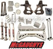 Mcgaughys Chevy Silverado 2014-2016 7-9 Lift Kit 2wd Aluminum A Arms Only 50768