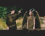 Isobelle Molloy And Michael Higgins Signed 8x10 Photo - Maleficent - Wow G192