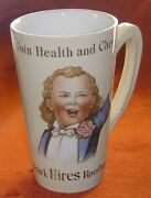 Fabulous Antique Vintage 1890s Hires Root Beer Mug By Villeroy And Boch, Mettlach