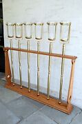 6 Church Processional Candle Torches Accolites Brass 48 Sanctuary Lamps 311