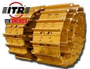 Sealed And Lubricated Track Gps W/ 24 Pads X2 For Cat D9h