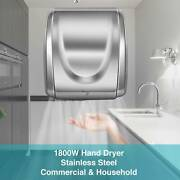 Hand Dryer 1800w Electric Stainless Steel Commercial And Household Auto