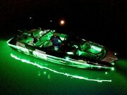 Green - - Led Boat Light Kit - - Universal Fit Any Boat - - Under Or Above Deck