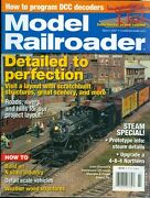 2007 Model Railroader Magazine Detailed To Perfection/steam Special/crane
