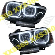 Oracle Halo Headlights Non Hid For Dodge Charger 11-14 White Led Angel Eyes