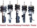 B Fbx-f-for-13 1981-1990 Ford Escort Usa Lynx Front Air Suspension Ride