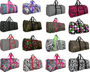 Womenand039s Fashion Print 22 Light Weight Duffle Bag/ Dance/ Gym/ Shoulder Carry-on