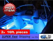 32ft Total ---- Blue Led Light Kit - - Fits Any Boat - - All Colors