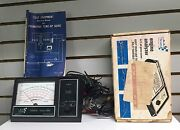 Sears Engine Analyzer Old Car Tester 12v Rpm Points Amps 161.2161 282161