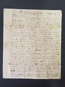 Salmon Giddings Signed Letter On Revival @ Williams College-- Missionary - 1812