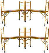 5 Mfs Scaffold Rolling Towers 29w X 6and039h Deck Aka Perry Baker Baby Tower Cbm1290