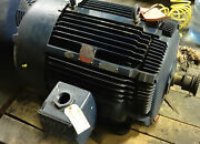 Westing House Mac Ii 125hp Motor 3570rpm 460volts Rebuilt With Inpro Seal