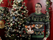 Gremlins Mondo Holiday Christmas Ugly Sweater Menand039s Large New Sold Out All Sizes