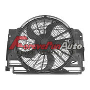 New A/c Ac Radiator Condenser Cooling Pusher Fan 5 Blade For 00-06 Bmw X5
