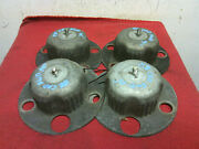 1988 Cadillac Fwd Wire Wheel Lock Pedestals For 14 Wheels Used Oem