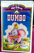 Dumbo/vhs Home Video 1998/walt Disney/masterpiece Collection/plays Perfectly
