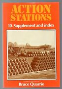 Action Stations 10 Military Airfields Index Supplement Bruce Quarrie Hc Raf Usaf