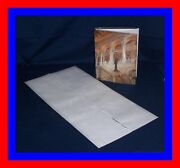 25 - 14 X 28 Brodart Archival Fold-on Book Jacket Covers - Super Clear Mylar
