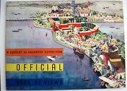 1933 Chicago Expo Booklet W/colorful Pictures By Frank Raymond And Ethel Spears