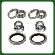 Front Wheel Bearing And Seal For Toyota 4runner T100 4wd 1986-1995 Pair New