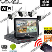 Wireless Ip Security Cameras System Farm Home Motion Activation Night Vision