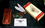 Camillus 10 American Wildlife Knife And Sheath 4-3/8 Circa-1975 W/box, Papers