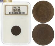 1885 Ngc Us 1c Ms65 Bn Small Cent Indian Head Penny Coin