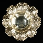 Antique Reed And Barton Francis I X 569 Candy Dish Silver Bowl