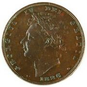 1826 Great Britain Farthing George V Vf Condition British Foreign Coin