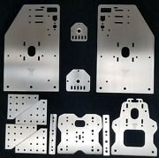 Deluxe 2 Taller Ox Cnc Gantry Plate Set Seen At Openbuilds