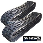 Two Rubber Tracks Fits Cat 279c C-lug Tread 304-1909 3041909 18 Wide