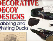 Decorative Decoy Designs Dabbling And Whistling Ducks Voume. 1 By Bruce Burk