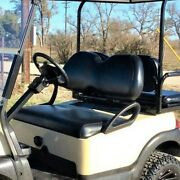 Club Car Precedent Staple On Golf Cart Front Seat Cover Solid Color