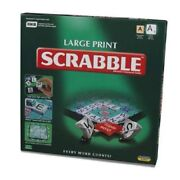 Large Print Scrabble - Brand New And Sealed