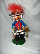 Vintage Steinbach Frederick The Great Seated With Sword Incense Smoker Nice
