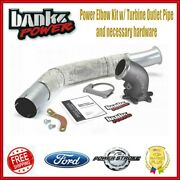 Banks Power Elbow Kit W/ Turbine Outlet Pipe For 99-03 Ford F-250 F-350 7.3l