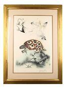 The Mock Turtleand039s Story By Salvador Dali Signed Lithograph On Arches Paper Le