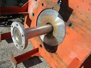 Chemineer Stainless Steel Mixing Shaft With Flange Coupling