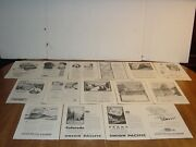 Union Pacific Railroad 90+ Pages Vintage National Geographic Print Ads 1940-84