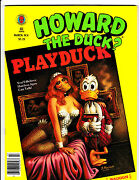 Howard The Duck 4 Nm- Cameos By The Beatles Elvis Kiss Marvel Mag 1980 Lqqk