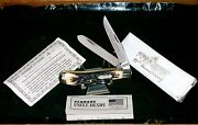 Schrade 285uh Knife 95th Anniversary Stag Appearance Uncle Henry W/packaging
