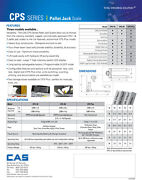 Cas Scale Cps-2 Model A 5k Capacity - Legal For Trade---cps-2an